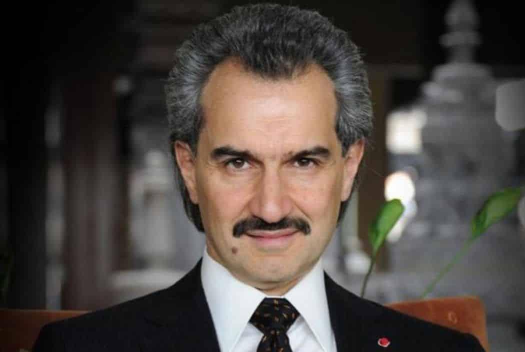 صاحب الثروة الهائلة الوليد بن طلال