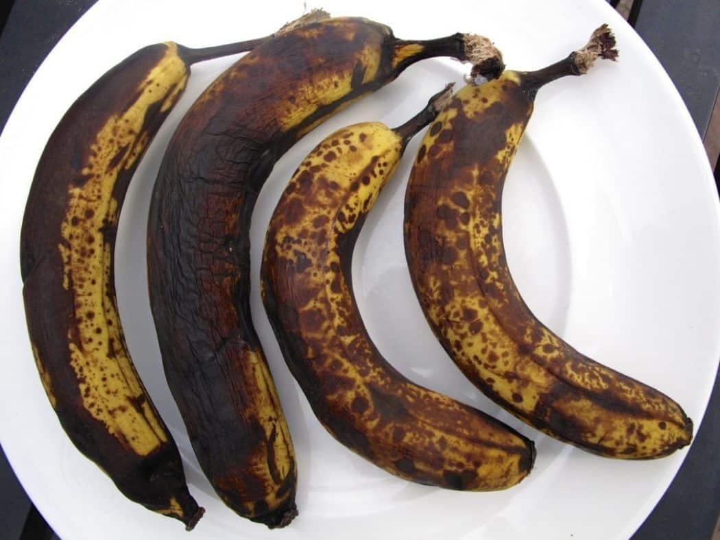 فوائد جمة لسواد الموز
