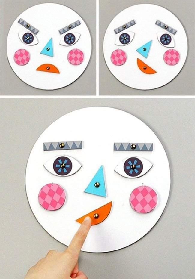 لعبة الوجه المتغير الأكثر تسليةً للأطفال