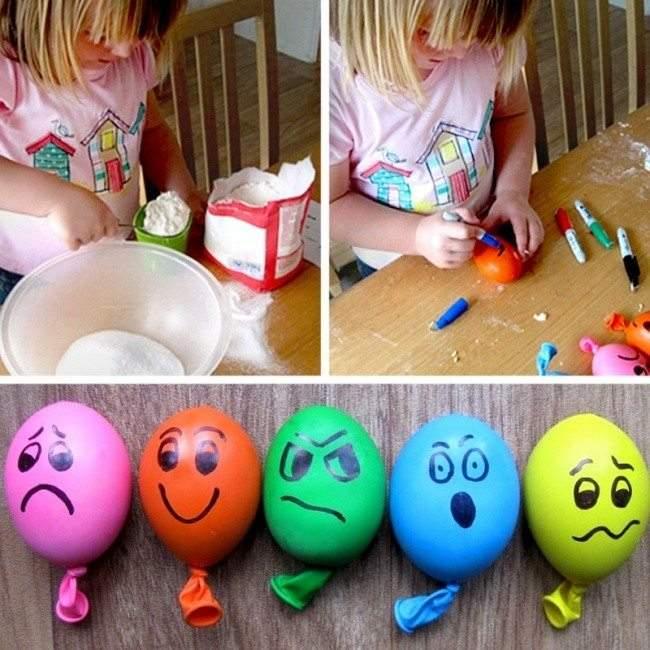 العاب اطفال مفيدة وتعليمية: بالونات الضغط