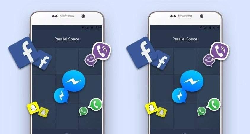 تطبيق واحد لأكثر من حساب فيسبوك أو تويتر أو واتساب