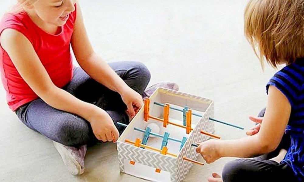 ألعاب أطفال سهلة الصنع تبهر بها أبناءك