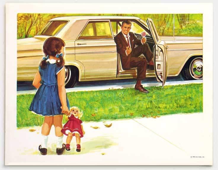 على الطفل ألا يركب سيارة مع غرباء