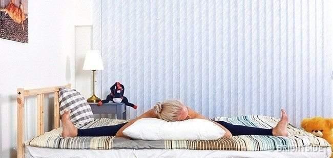 6 تمارين يوجا تساعدك على النوم فورا