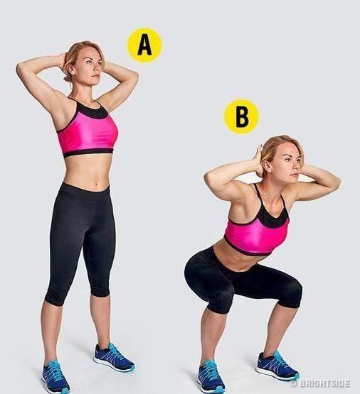 تمرينا5 تمرينات رياضية بسيطة تخلصك من الدهون في المنزلت رياضية