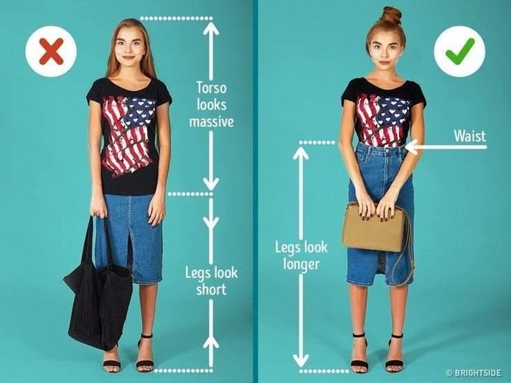 7 نصائح للفتيات القصيرات للظهور بمظهر أطول