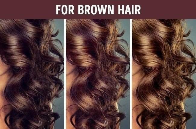 خلطات طبيعية لصبغ الشعر 1