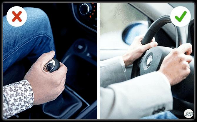 6 عادات سيئة أثناء القيادة