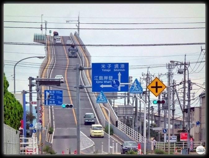 """جسر """"أوهاشي"""" الياباني.. أخطر جسر في العالم"""