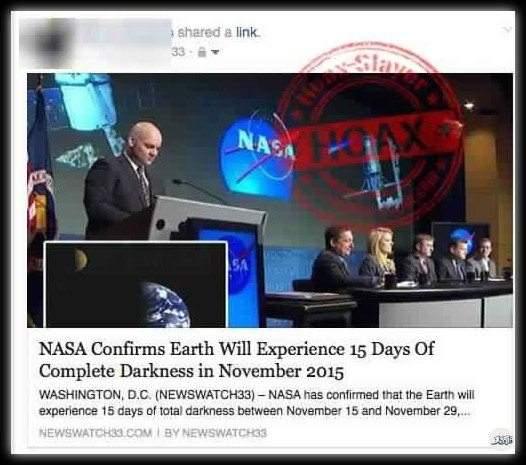 """""""15 يوما من الظلام"""".. أكذوبة ناسا التي رددها الجميع"""