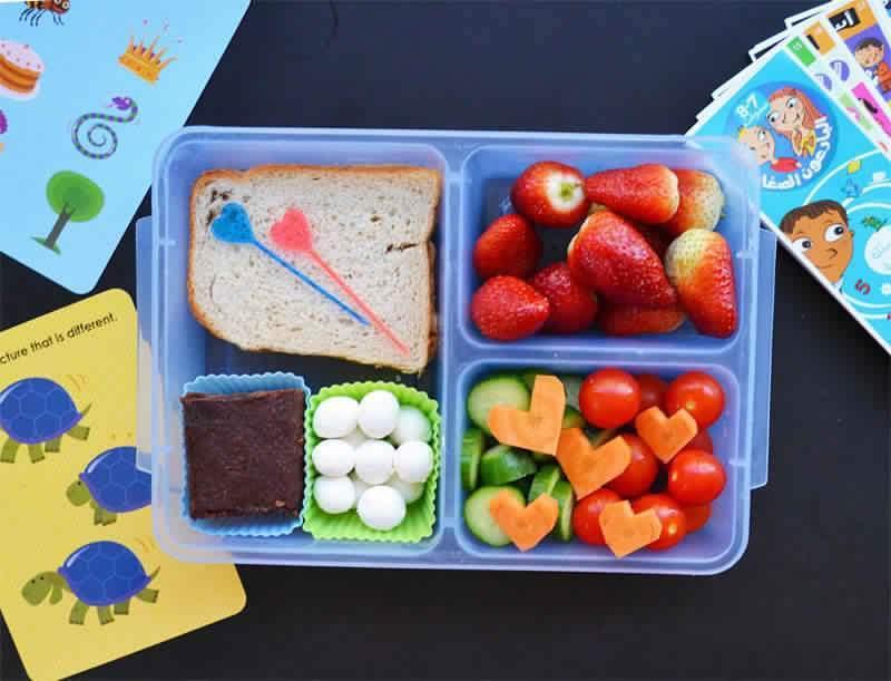 5 أفكار مفرحة لأطفالك في علبة الغداء