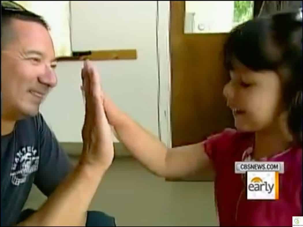 أليساندرا.. ابنة الـ3 سنوات التي أنقذت والدها من موت محقق 2