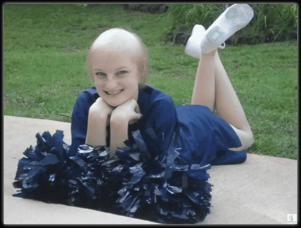 مونتانا براون.. الطفلة التي هزمت السرطان مرتين