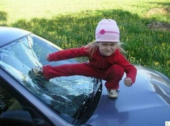 صور طريفة توضح مدى جنون الأطفال!