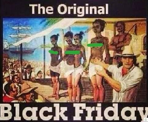 سر علاقة الجمعة السوداء بالعبودية