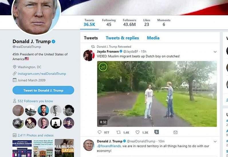 تغريدة ترامب وحقيقة المهاجر المسلم الذي اعتدى على طفل هولندي
