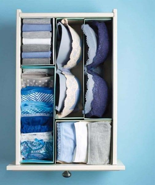 أفكار تساعد في تنظيم خزانة الملابس