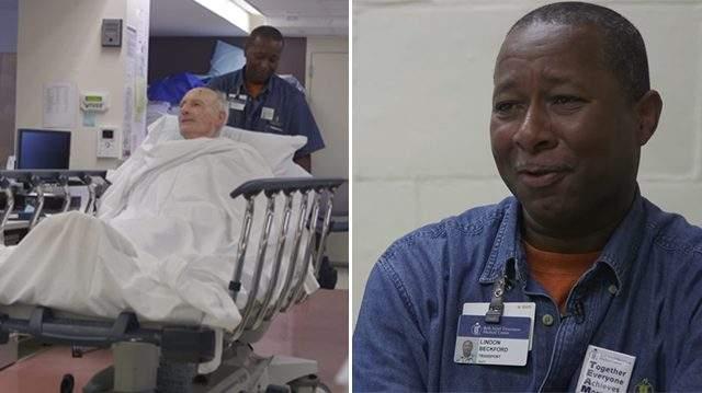 كيف نال عامل المستشفى حب جميع المرضى؟