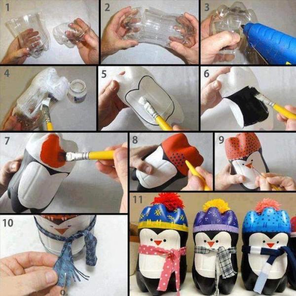 كيف تصنع بطريقا من زجاجة بلاستيكية؟ 1