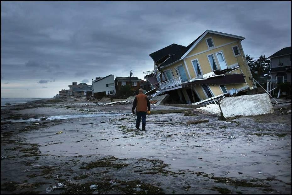 فقدوا كلبهم في إعصار ساندي.. فهالتهم المفاجأة المذهلة