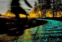 روزجارد وداعا للمصابيح الكهربائية وأهلا بعصر الأشجار المضيئة