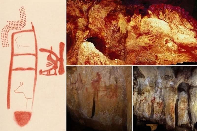 """""""لوحات رمزية"""" منذ 64,000 عام تهدم كل نظريات """"الإنسان البدائي"""""""