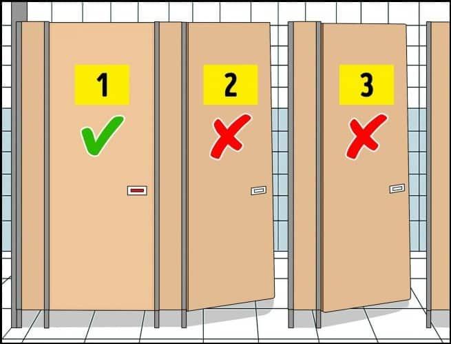 كيف نستخدم المراحيض العامة بأمان؟