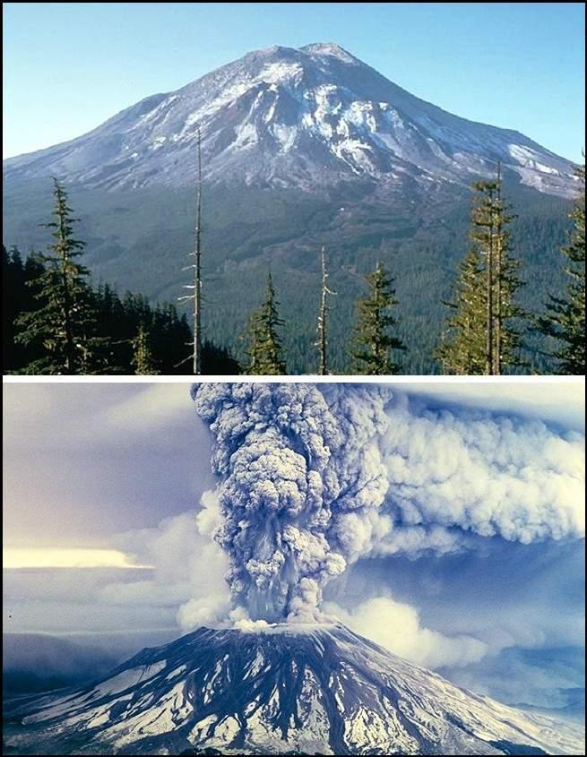 قبل وبعد.. صور مثيرة ترصد كيف يتغير العالم في أقل من 24 ساعة 1