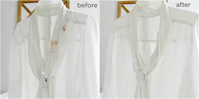 أسهل طريقة لإزالة بقع مساحيق التجميل من الملابس