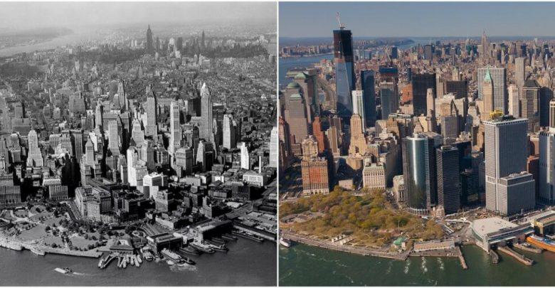 """نيويورك بين الماضي والحاضر.. """"بالصور"""""""