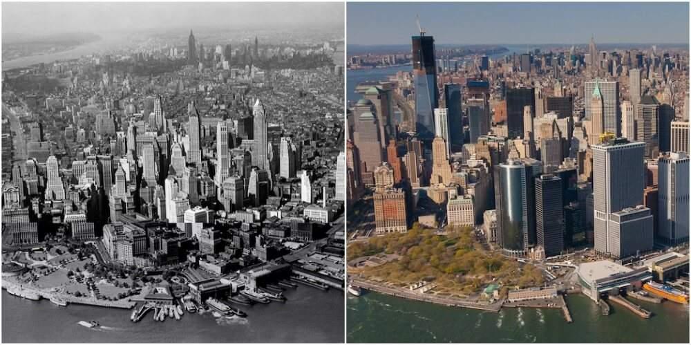 نيويورك بين الماضي والحاضر