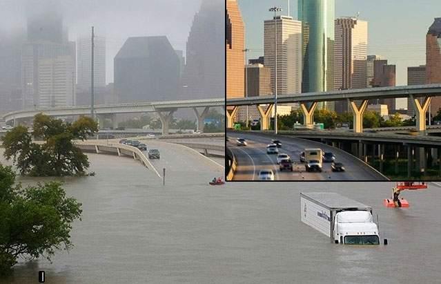 قبل وبعد.. صور مثيرة ترصد كيف يتغير العالم في أقل من 24 ساعة