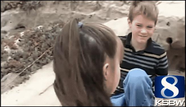 """البطولة في سن الحادية عشرة.. كيف أنقذ """"الطفل كونور"""" حياة اليسا من تحت الرمال؟ 3"""