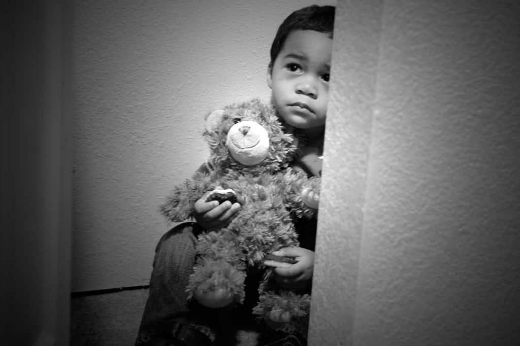 العنف الأسري للأطفال كتأثير الحرب على الجنود