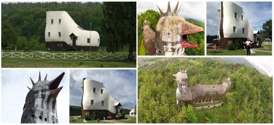 كنيسة الدجاجة ومنزل الحذاء.. أغرب المباني على وجه الأرض