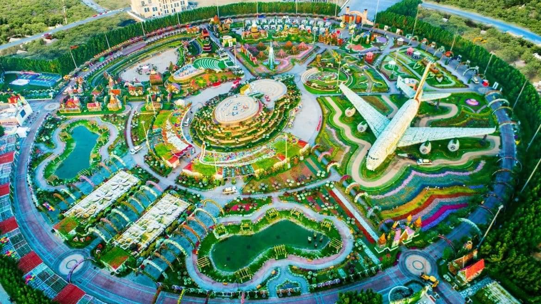 """حديقة الزهور.. معجزة دبي التي أدخلتها """"جينيس"""" من أوسع أبوابها"""