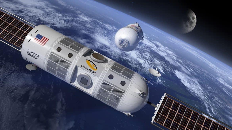 """الحجز متاح الآن.. أول رحلة إلى """"فندق الفضاء"""""""