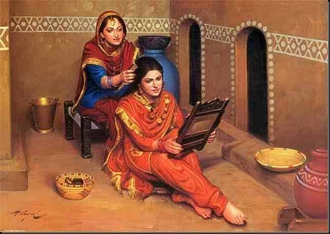"""مكونات الجمال """"غير التقليدية"""" لدى المرأة الهندية منذ القدم"""