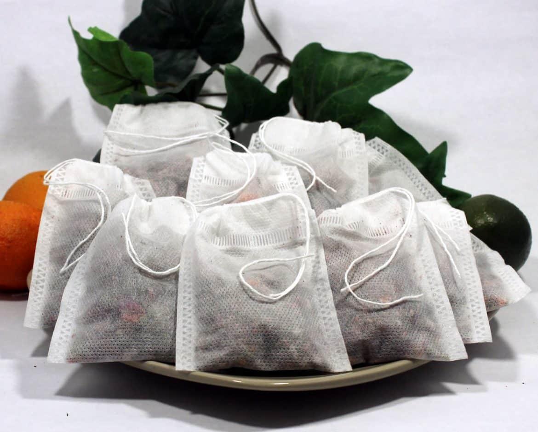 استخدامات غير تقليدية أكياس الشاي