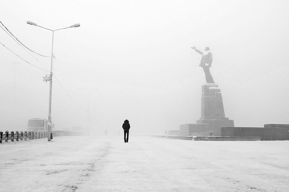 ياكوتسك المدينة الأبرد في العالم Yakutsk-56