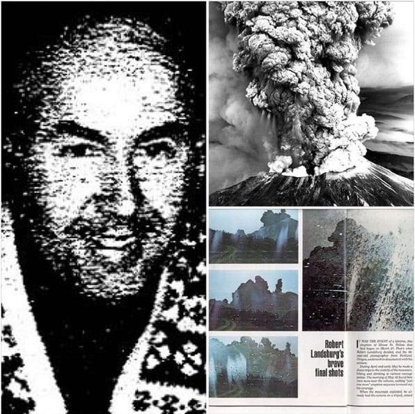 روبرت لاندزبورج.. مصور دفع حياته ثمنا لأروع صور البركان