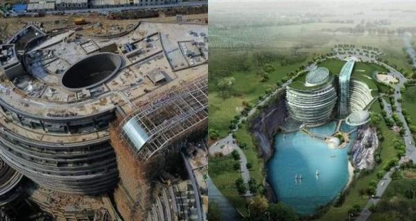 """""""فندق الهوة العميقة"""".. صنع في الصين! 6"""