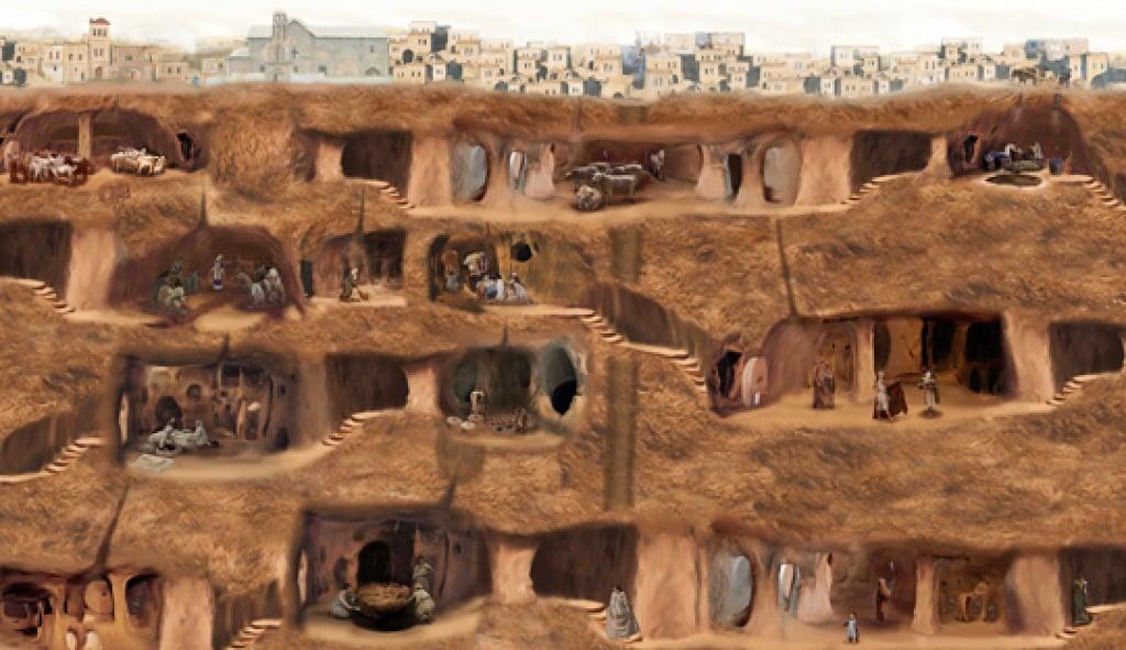 """""""الصدفة"""" تجتاز بالعالم نفقا سريا إلى أكبر مدينة تحت الأرض"""