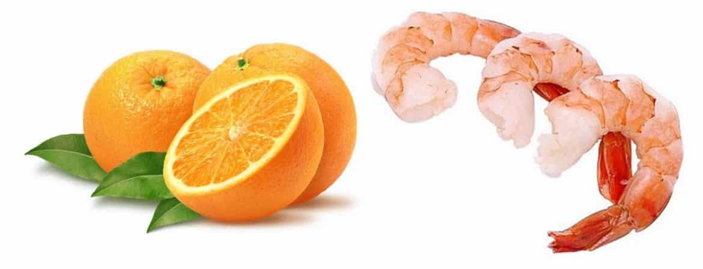 ما حقيقة العلاقة القاتلة بين الجمبري وفيتامين C؟
