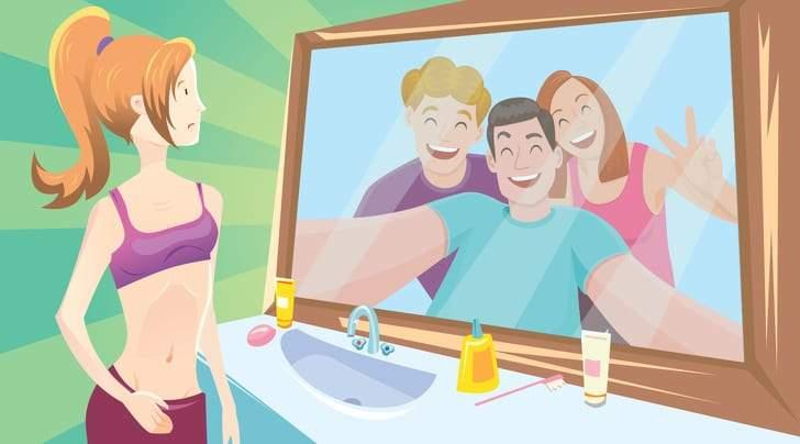 قاعدة المرآة.. وحيل ذهنية تغير حياتك إلى الأفضل