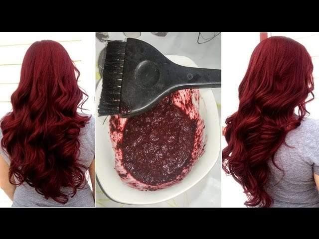 الحناء وتلوين الشعر من دون آثار جانبية