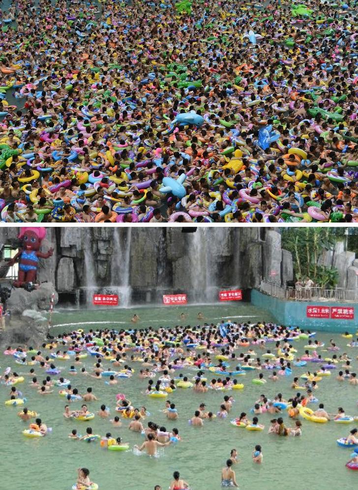 تاج محل وسور الصين.. وأكثر الأماكن السياحية إزدحاما في العالم
