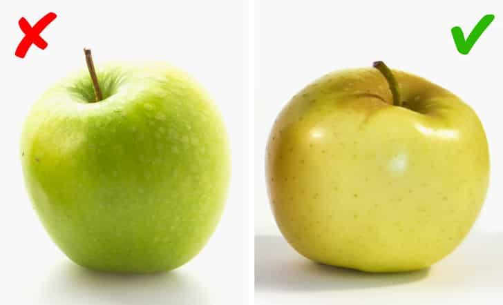 كيف نميز الفواكه والخضروات الطازجة عند الشراء؟