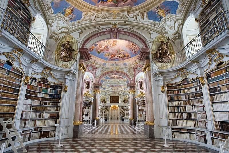 أجمل مكتبات العالم