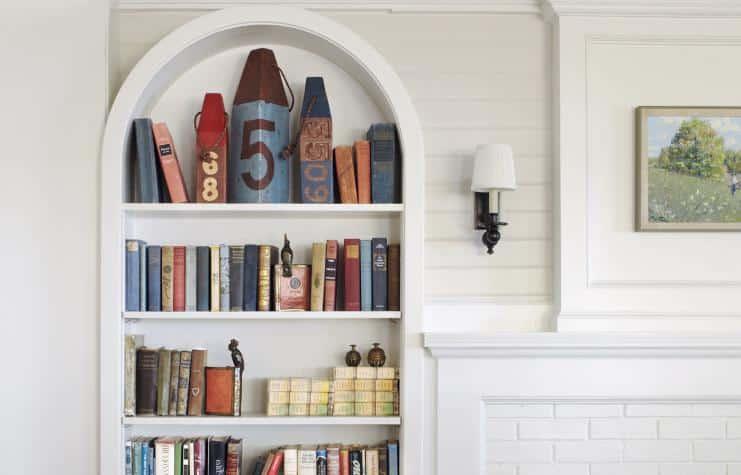 بالصور: 8 أفكار مذهلة لتصميم مكتبة المنزل